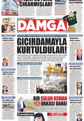 DAMGA Gazetesi - 07.05.2021 Sayfaları