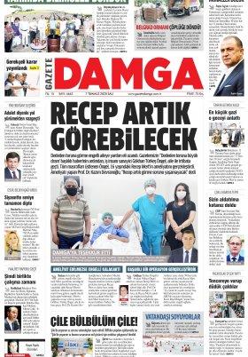 Gazete Damga - 07.07.2020 Sayfaları