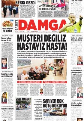 Gazete Damga - 07.09.2020 Sayfaları
