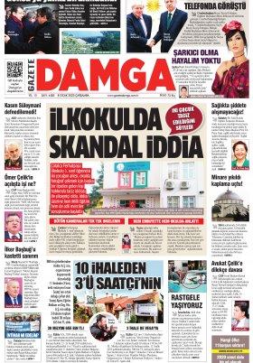 Gazete Damga - 08.01.2020 Sayfaları