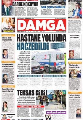 DAMGA Gazetesi - 08.04.2021 Sayfaları