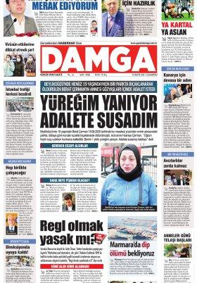 DAMGA Gazetesi - 08.05.2021 Sayfaları
