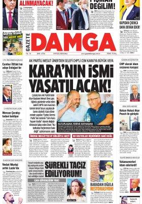 Gazete Damga - 08.09.2020 Sayfaları