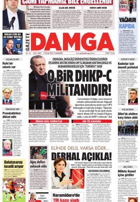 Gazete Damga - 09.01.2021 Sayfaları
