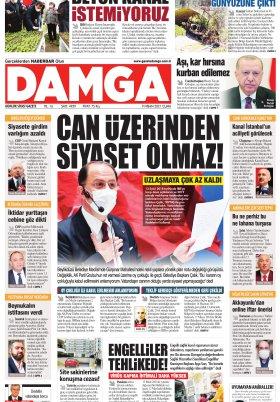 DAMGA Gazetesi - 09.04.2021 Sayfaları