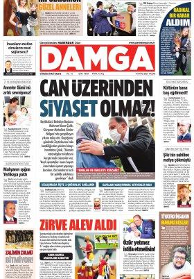 DAMGA Gazetesi - 09.05.2021 Sayfaları