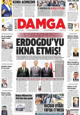 Gazete Damga - 09.07.2020 Sayfaları