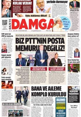 Gazete Damga - 10.01.2020 Sayfaları
