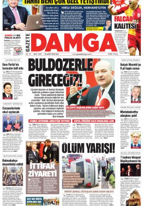 Gazete Damga - 10.03.2020 Sayfaları