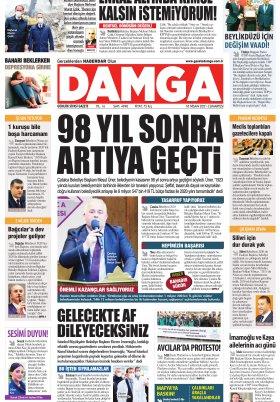 DAMGA Gazetesi - 10.04.2021 Sayfaları