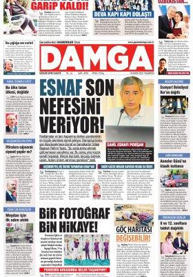 DAMGA Gazetesi - 10.05.2021 Sayfaları