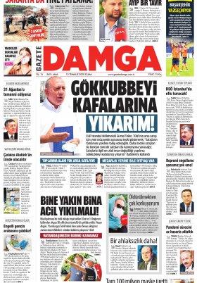 Gazete Damga - 10.07.2020 Sayfaları