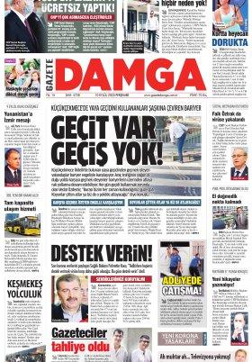 Gazete Damga - 10.09.2020 Sayfaları