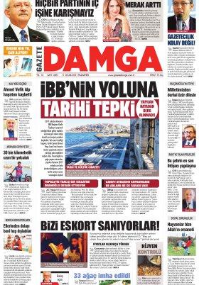 Gazete Damga - 11.01.2021 Sayfaları