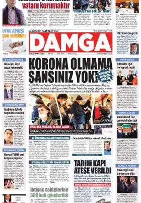DAMGA Gazetesi - 11.04.2021 Sayfaları