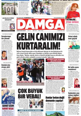 DAMGA Gazetesi - 11.05.2021 Sayfaları