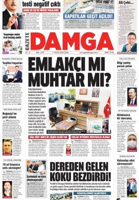 Gazete Damga - 11.09.2020 Sayfaları