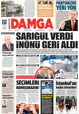 Gazete Damga - 11.12.2018 Sayfaları