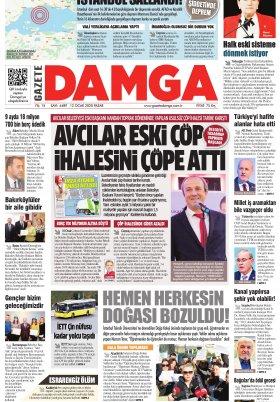 Gazete Damga - 12.01.2020 Sayfaları