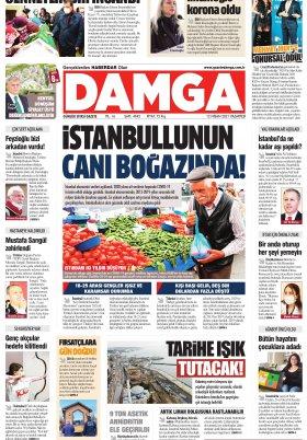 DAMGA Gazetesi - 12.04.2021 Sayfaları