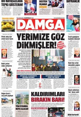 DAMGA Gazetesi - 12.05.2021 Sayfaları