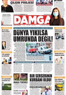 DAMGA Gazetesi - 12.07.2021 Sayfaları