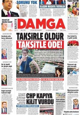 Gazete Damga - 12.09.2020 Sayfaları