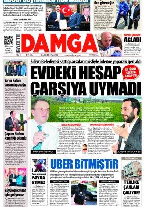 Gazete Damga - 12.11.2018 Sayfaları