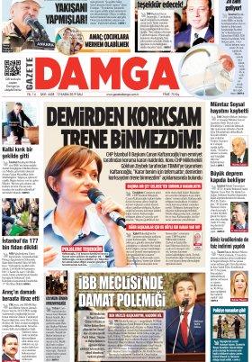 Gazete Damga - 12.11.2019 Sayfaları
