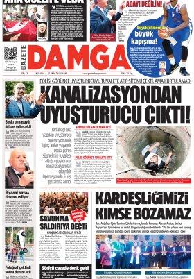 Gazete Damga - 21.10.2018 Sayfaları