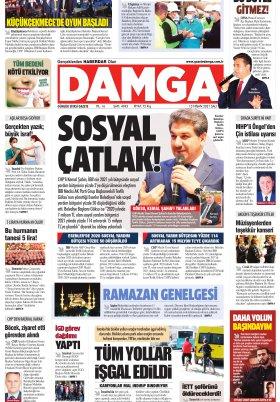DAMGA Gazetesi - 13.04.2021 Sayfaları
