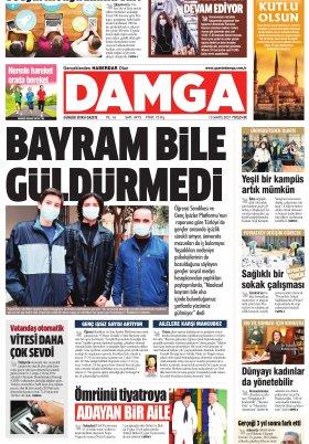 DAMGA Gazetesi - 13.05.2021 Sayfaları