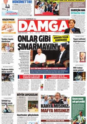 DAMGA Gazetesi - 13.07.2021 Sayfaları