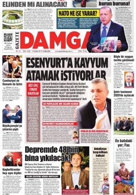 Gazete Damga - 13.11.2019 Sayfaları