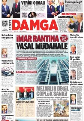 Gazete Damga - 14.01.2020 Sayfaları