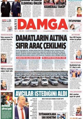 Gazete Damga - 14.03.2020 Sayfaları
