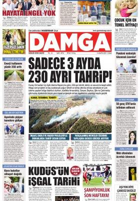 DAMGA Gazetesi - 14.05.2021 Sayfaları
