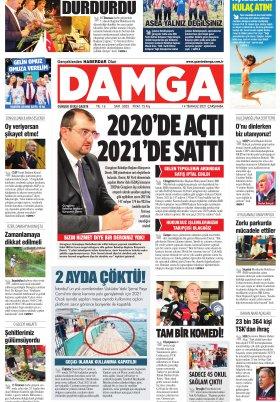 DAMGA Gazetesi - 14.07.2021 Sayfaları