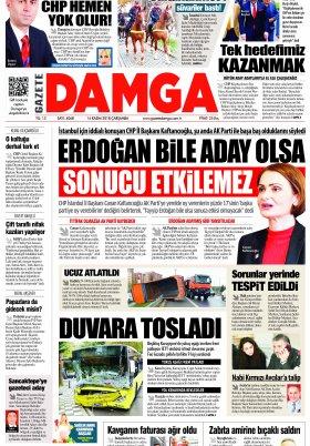 Gazete Damga - 14.11.2018 Sayfaları