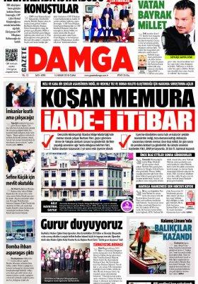 Gazete Damga - 14.12.2018 Sayfaları