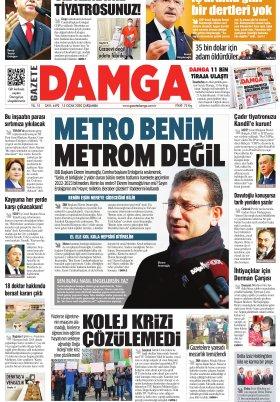 Gazete Damga - 15.01.2020 Sayfaları