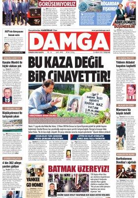 DAMGA Gazetesi - 15.04.2021 Sayfaları