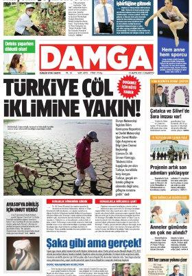 DAMGA Gazetesi - 15.05.2021 Sayfaları