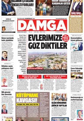 DAMGA Gazetesi - 15.07.2021 Sayfaları