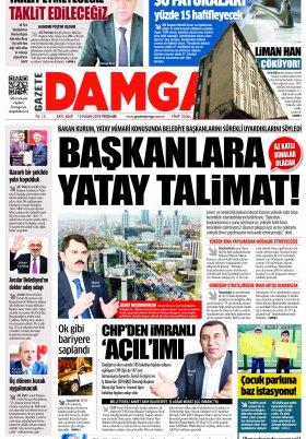 Gazete Damga - 15.11.2018 Sayfaları