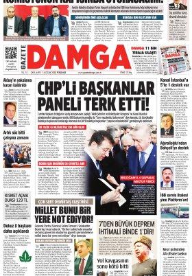 Gazete Damga - 16.01.2020 Sayfaları