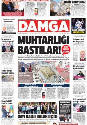 DAMGA Gazetesi - 16.04.2021 Sayfaları