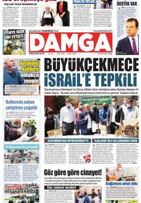 DAMGA Gazetesi 16.05.2021 Sayfaları