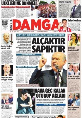Gazete Damga - 16.06.2019 Sayfaları