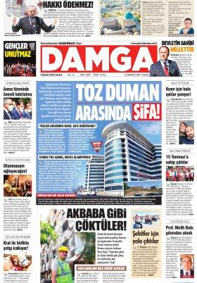 DAMGA Gazetesi - 16.07.2021 Sayfaları